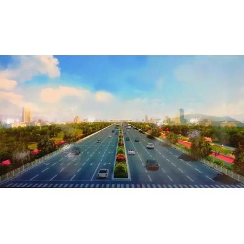 【最新消息】海丰县城南门湖、海丽大道春节前完成改造升级