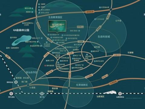 海丰星河湾交通图